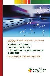 Efeito da fonte e concentração de nitrogênio na produção de