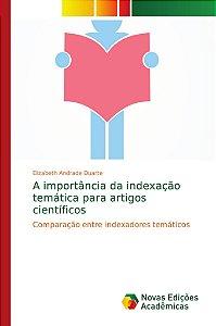 A importância da indexação temática para artigos científicos