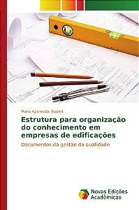 Estrutura para organização do conhecimento em empresas de ed