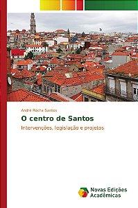 O centro de Santos