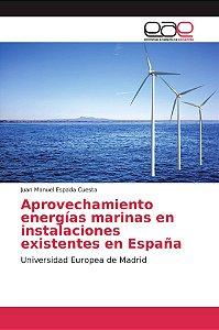 Aprovechamiento energías marinas en instalaciones existentes
