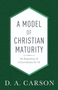 Model of Christian Maturity