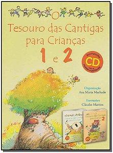 Box - Tesouro das Cantigas Para Crianças 1 e 2