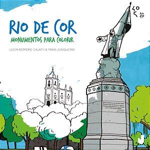 Rio de cor: monumentos para colorir