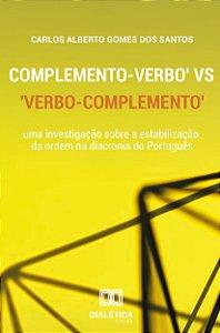 Complemento - Verbo vs Verbo - Complemento