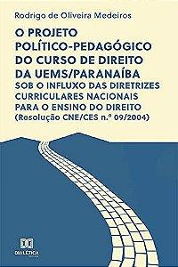 O projeto político-pedagógico do curso de direito da UEMS/Paranaíba