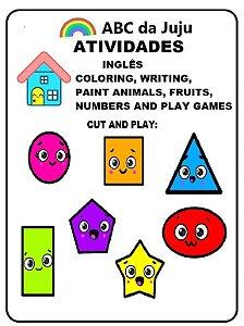 Atividades de Inglês para Colorir: ABC da Juju