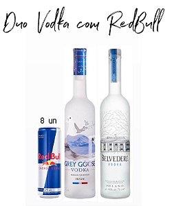 Duo Vodka com RedBull