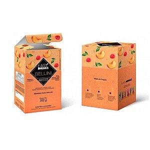 Preparado Pêssego Bellini Com 6 Sachês Easy Drinks 540g
