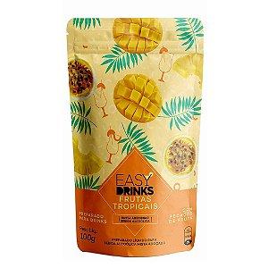 Preparado de Frutas Tropicais Sachê 100g - Easy Drinks