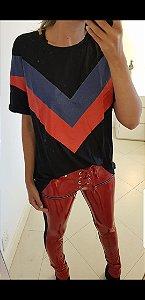 T shirt tricolor