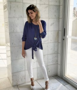 BLUSA VISCOSE COM NO FRONTAL VR