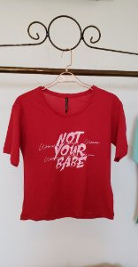 T shirt malha Not your Babe b vr