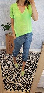 Calca jeans jogging molenga