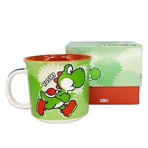 Caneca Tom 350ml Mario - Yoshi