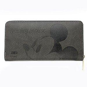 Carteira c/ Relevo Mickey Mouse - Rosto