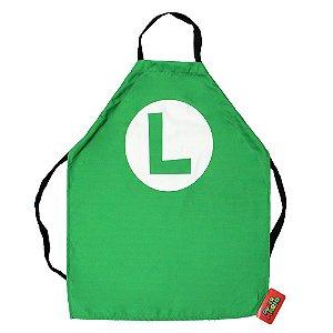 Avental Canvas Super Mario - Luigi