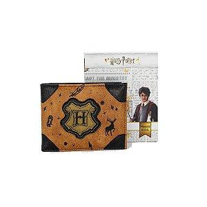 Carteira Harry Potter - Hogwarts Símbolos