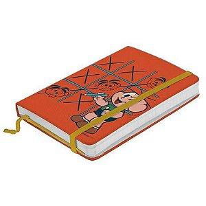 Caderno de Anotações Turma da Mônica - Cebolinha Jogo da Velha
