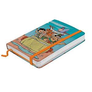 Caderno de Anotações Flinstones - Família no Carro