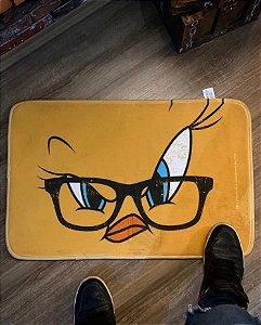 Tapete Floffy Looney Tunes - Piu Piu Óculos