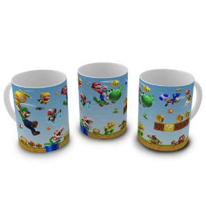 Caneca Super Mario World