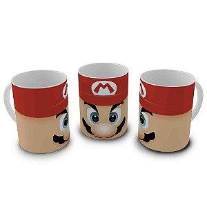 Caneca Super Mario - Rosto