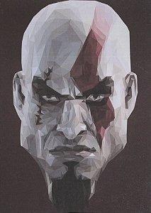 Placa Decorativa God of War - Kratos