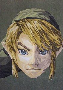 Placa Decorativa Zelda - Link