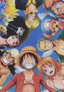Placa Decorativa One Piece