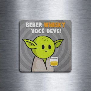 Porta Copo Ecológico Star Wars - Beber Whisky você deve