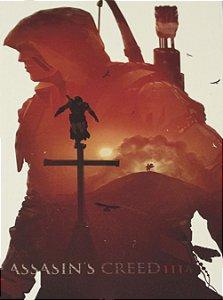 Placa Decorativa Assassin's Creed - Salto de Fé