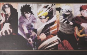 Placa Decorativa Naruto