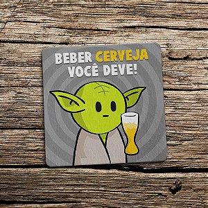 Porta Copo Ecológico Star Wars - Beber Cerveja você deve