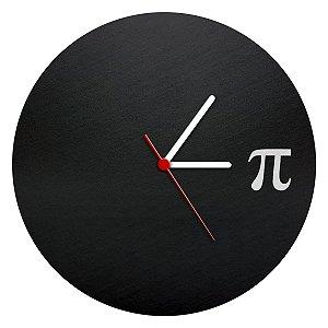 Relógio de Parede Ecológico Matemática - Pi