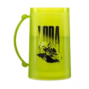 Caneco Congelável 390ml Star Wars - Yoda