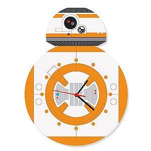 Relógio de Parede Star Wars - BB-8