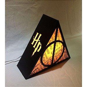 Luminária Harry Potter - Relíquias da Morte