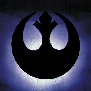 Luminária de Parede Star Wars - Rebeldes