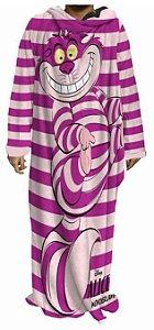 Cobertor Com Mangas Alice - Gato Risonho