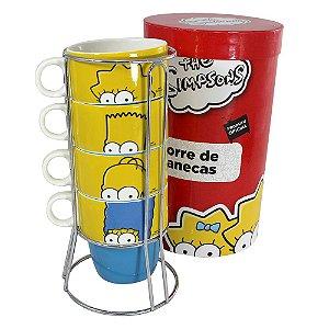 Torre de Canecas Simpsons - Família