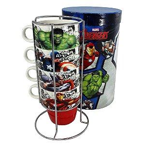 Torre de Canecas Marvel - Avengers