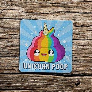 Porta Copo Ecológico Unicorn Poop