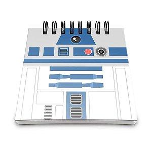 Bloco de Anotações Star Wars - R2-D2