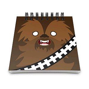 Bloco de Anotações Star Wars - Chewbacca