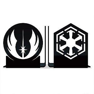 Aparador de Livros Star Wars - Jedis vs Siths