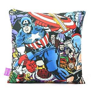 Almofada Marvel - Capitão América Ação