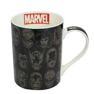 Caneca Reta Dream Mug Marvel Rostos
