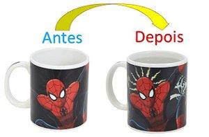 Caneca Mágica Reativa Ultimate Spider Man