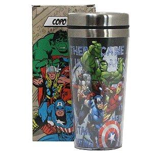 Copo para Viagem 450ml Avengers
